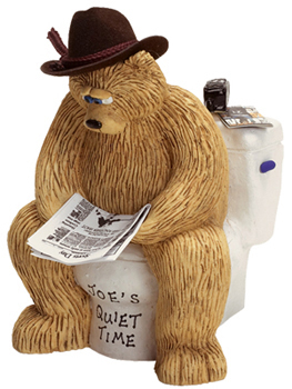 "Buy cute gifts for him - ""Cowboy Bear Joe\'s Quiet Time, Cute Gifts for Him\"""