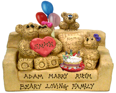 Buy 40th birthday gifts - Personalized 40th Birthday Gift for Wife with 1-7 Kids